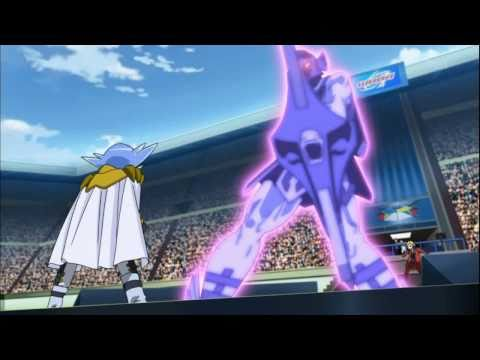 HD Beyblade AMV: Gravity Perseus vs Hell Kerbecs
