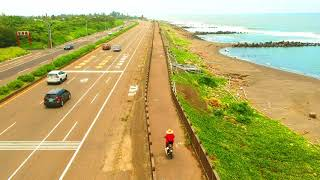 Drone Spark Touring bicycle Tainan - Taiwan ( cicloturismo)