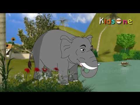 Elephant || Rhyme Telugu (animated Kidsone Song) video