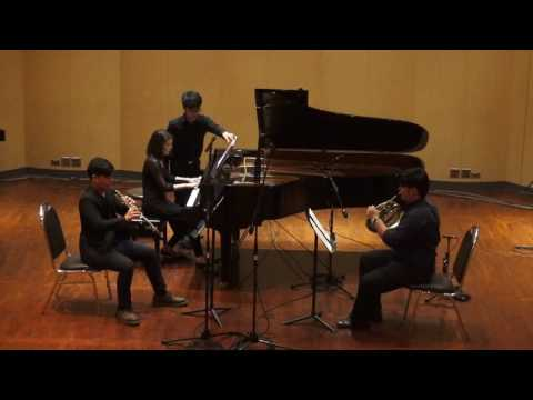 Robert Kahn: Trio for Oboe, Horn and Piano