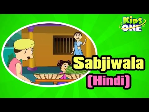 Hindi animated Rhymes for Kids - Sabjiwala