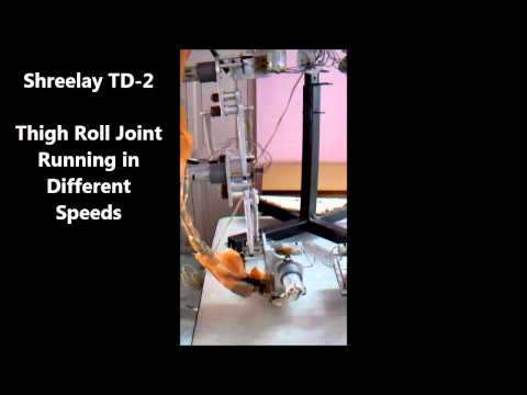Robotic Leg Thigh Joint At Different Speeds (TD-2)