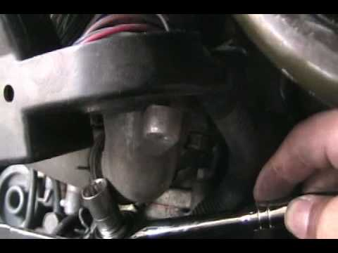 How to replace thermostat on 2.4l 4 cyl Mitsubishi Eclipse 02