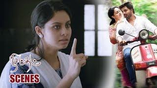 Bhoomi Tells About That Guy To Her Father - Nisabdham Movie Scenes - Ajay, Abhinaya, Baby Sathanya