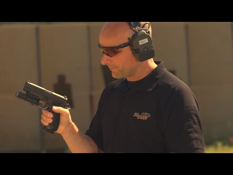 Pistol shooting tips from Sig Sauer Academy