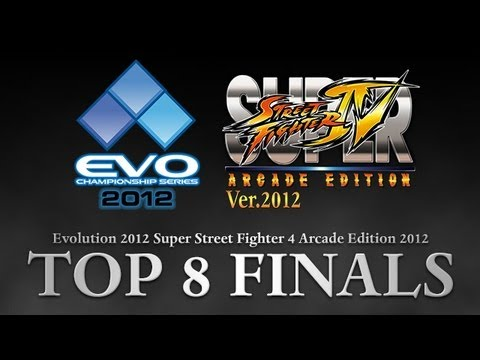 EVO 2012 Top 8 FINALS - SSF4 AE 2012