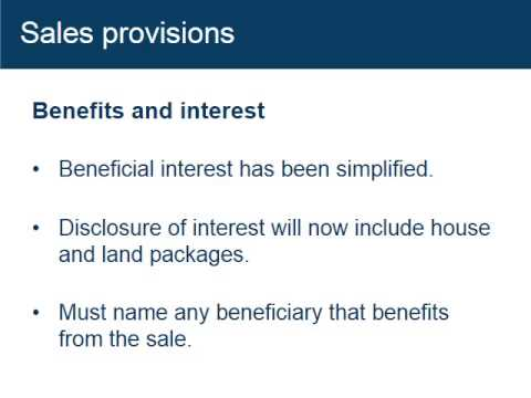 This video explains the key changes under the Property Occupations Act 2014. It is one of five topics in the series about the implementation of the new Acts ...