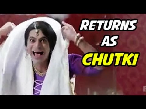 Sunil 'gutthi' Grover New Show Character Chutki Revealed video