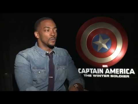 Marvel's Captain America: The Winter Soldier - Anthony Mackie Interview