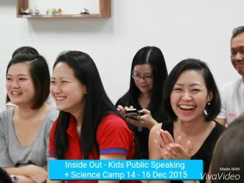 Inside Out - Kids Public Speaking + Idiscoveryworld Science Camp