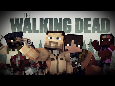 THE WALKING DEAD MOD - Personajes. armas y Caminantes! - Minecraft mod 1.7.10 y 1.8 Review ESPAÑOL