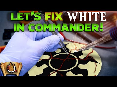 Let's Fix White in Commander I The Command Zone #297 I Magic: the Gathering EDH