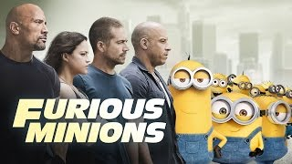 Video clip Furious Minions - Minions Invade The Fast & The Furious (2015) HD