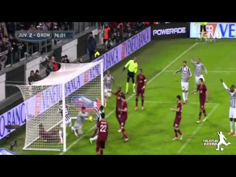 Juventus Turin Vs. Roma 3:0 Highlights All Goals (2013-14 Serie A) Goles du match 5-1-2014