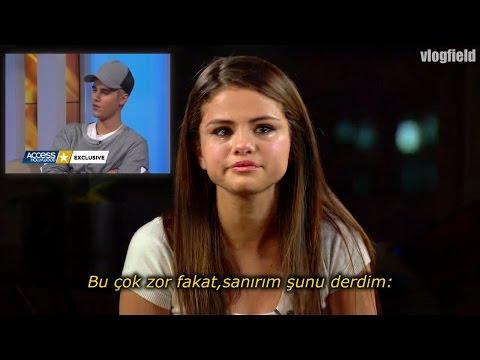 Justin Selena Gomez'i Ağlattı(TÜRKÇE ALTYAZI)