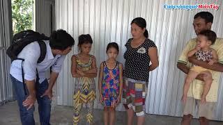 Mừng gia đình Anh Sinh có nhà mới, nhưng gia đình vẫn còn nổi khổ lo cho Con | CSQMT 12/6/2019