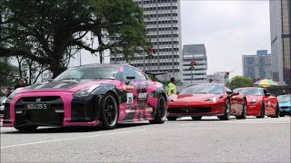KL Supercar Drag Race - Liberty Walk GTR, 599 GTB, Audi RS6 (THIS ONE CONTAINS ONLY DRAG RACING)