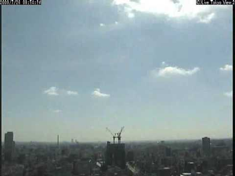 Tokyo Sky Tree Growing, time lapse movie