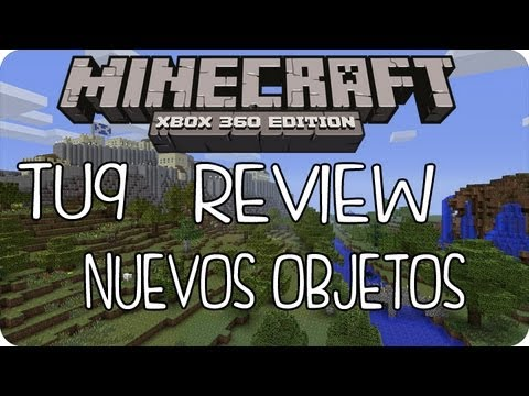 MineCraft Xbox360 - TU9 Review Nuevos Objetos