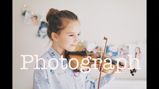 Photograph Ed Sheeran Violin Karolina Protsenko