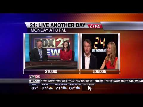 FOX 25 Morning News Interview - Tate Donovan and Kim Raver