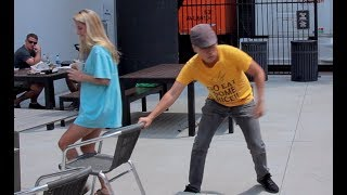 Chair Pulling Prank in Atlanta!!!