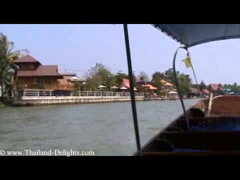 Amphawa Floating Market, A Cruise on the Mae Klong River, Samut Songkhram. Part 4.