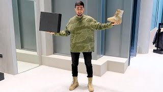 KANYE WEST $2500 OUTFIT !!!