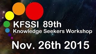 89th Knowledge Seeker Workshop HD