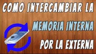 COMO INTERCAMBIAR LA MEMORIA INTERNA POR LA EXTERNA 2017 | ZTE Blade l2