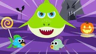Ghost Baby Shark Song Monster Halloween Song Baby Shark Nursery Rhymes Songs for Kids