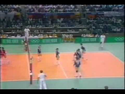 Peru vs Soviet Union at 1988 Seoul Olympics Games - set 5