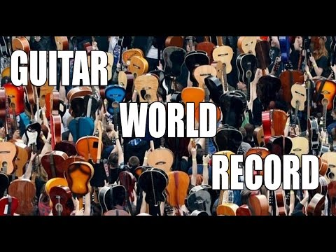 Thanks Jimi Festival - Guinness Guitar Record