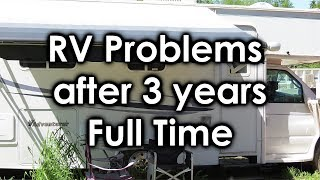 RV Problems after 3 Years Full Time