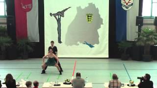 Maja Kosteletzky & Julian Sack - Ländle Cup 2015