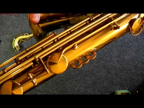 Repairman's Overview (Quickie): 1939 King Zephyr Special Tenor Saxophone