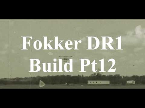 DW Hobby Fokker DR1 Build Pt12 RC Model Geeks