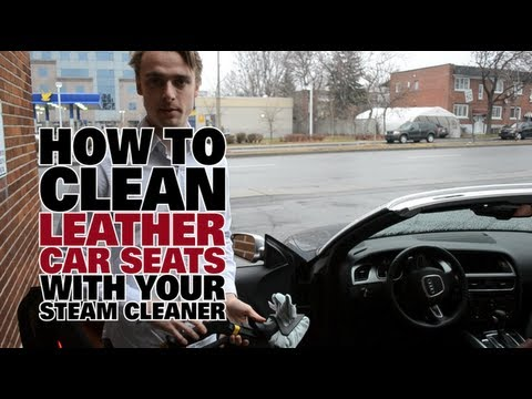 How To Steam Clean Leather Car Seats - Dupray Steam Cleaners