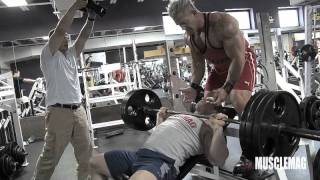 MuscleMag and Joel Thomas Train Off-Season Style