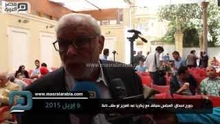 مصر العربية   جورج اسحاق: المجلس سيقف مع زكريا عبد العزيز لو طلب ذلك