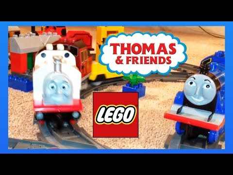 Thomas The Tank Engine & Friends Complete Collection Lego Duplo Trains video