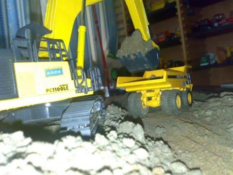 Maqueta de Excavadoras