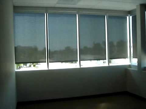 Motorized Roller Shades w/ Somfy Motors