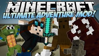 Minecraft | ULTIMATE ADVENTURE MOD! (Meet Timmy the Adventure Turtle!) | Mod Showcase