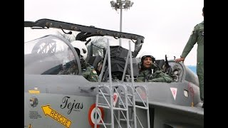 Watch: Dressed in G-suit, Rajnath Singh takes sortie in Tejas aircraft