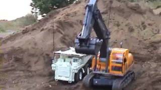 Hobby Engine Excavator Demo