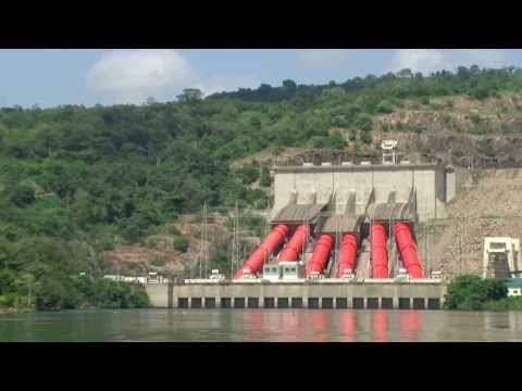 Volta Dam Ghana Tour Oct 2013 video