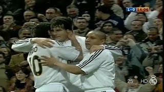 real madrid vs Villarreal 2003/2004 full match 2-1