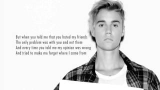 Justin Bieber - Love Yourself (Instrumental Remake) with lyrics +download