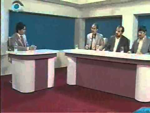 Round Table about   the supreme council  peace and  talks with Taliban from Negaah TV 24 October 2010 part 1